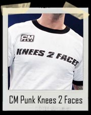 CM Punk Knees To Faces 25/8/366 Authentic T-Shirt