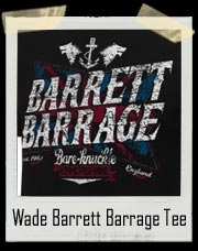 Wade Barrett Barrage Men's Authentic T-Shirt