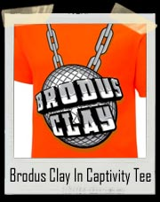 Brodus Clay In Captivity Authentic T-Shirt