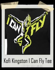 Kofi Kingston I Can Fly Authentic T-Shirt