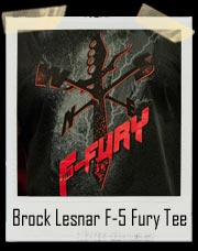 Brock Lesnar F-5 Fury Men's Authentic T-Shirt