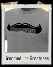 "Cody Rhodes ""Groomed For Greatness"" Moustach Comb Authentic T-Shirt"