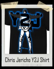 "Chris Jericho ""Always Imitated, Can't Be Duplicated"" Authentic T-Shirt"