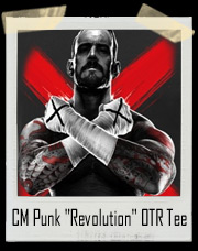 "CM Punk ""Revolution"" Outside The Ring T-Shirt"