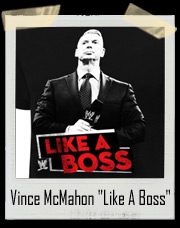 "Vince McMahon ""Like A Boss"" Outside The Ring T-Shirt"