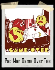 Pacman Game Over Cheating Mrs. Pacman T-Shirt