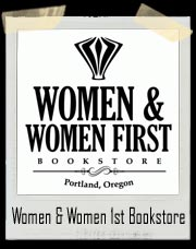Women & Women First Bookstore Portlandia T-Shirt