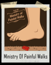 From The Ministry Of Painful Walks Lego T-Shirt