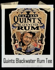 Quints Blackwater Rum T-Shirt From Jaws