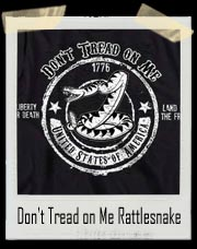 Don't Tread on Me Rattlesnake : Sons Of Liberty T-Shirt