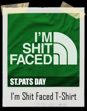 I'm Shit Faced (North Face) Style T-Shirt