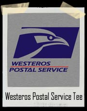 Westeros Postal Service Game Of Thrones T-Shirt
