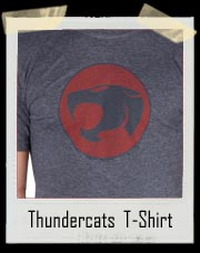 Distressed Thundercats Logo T-Shirt