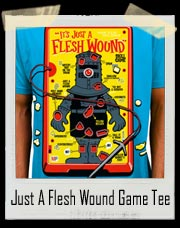 Monty Python Just A Flesh Wound Game T-Shirt