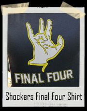 Wichita State Shockers Final Four Basketball T-Shirt