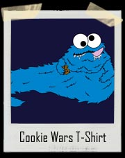 Cookie Wars - Cookie Monster The Hut T-Shirt