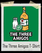The Three Amigos! Tequila, Salt, and Lime T-Shirt