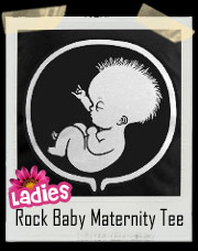 Rock Baby Maternity Tee Shirt