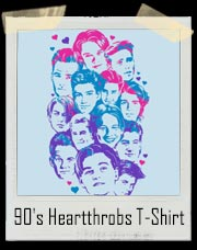 90's Heartthrobs T-Shirt