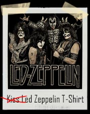 Kiss Led Zeppelin T-Shirt
