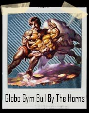 Dodgeball Globo Gym Bull By The Horns T-Shirt