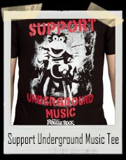 Support Underground Music Fraggle Rock Shirt