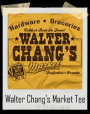 Walter Chang's Market Tremors T-Shirt