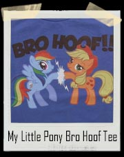 Retro My Little Pony Bro Hoof T-Shirt
