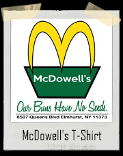 Coming To America McDowell's T-Shirt