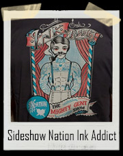Circus Sideshow Nation Ink Addict T-Shirt