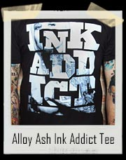 Alloy Ash Ink Addict T-Shirt