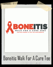 Boneitis Walk For A Cure Futurama T-Shirt