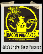 Adventure Time Jake's Original Bacon Pancakes T-Shirt
