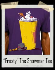 Frosty The Snowman in Wendy's Frosty Cup T-Shirt