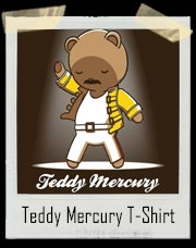 Teddy Mercury Queen T-Shirt