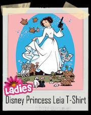 Disney Princess Leia Girly T-Shirt