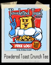 Powdered Toast Man - Powdered Toast Crunch Man Ren and Stimpy T-Shirt