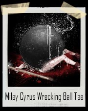 Miley Cyrus Wrecking Ball Smash T-Shirt