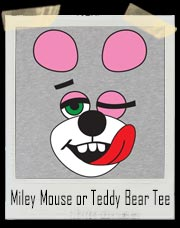 Miley Cyrus Mouse or Teddy Bear Costume T-Shirt