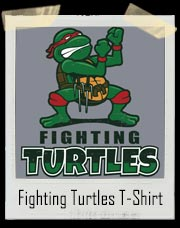 Fighting Turtles Irish TMNT T-Shirt