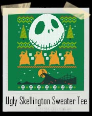 Ugly Skellington X-mas Sweater T-Shirt